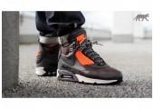 Кроссовки Nike Air Max 90 SneakerBoot Brown/Crimson - Фото 4