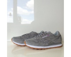 Кроссовки Reebok Classic Leather Suede Grey