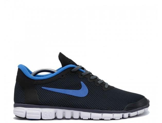 Кроссовки Nike Free Run 3.0 V2 Grey/Blue
