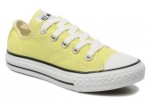 Кеды Converse Chuck Taylor All Star Low Light Yellow - Фото 4