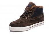 Кроссовки Nike High Top Fur Brown С МЕХОМ - Фото 3