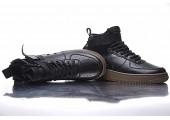 Кроссовки Nike SF Air Force 1 Utility Mid Black/Grey - Фото 5