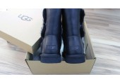 UGG Bailey Button Leather Black - Фото 5