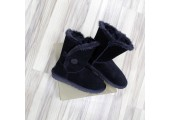 UGG Bailey Button Black - Фото 7