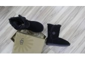 UGG Bailey Button Black - Фото 5