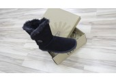 UGG Bailey Button Black - Фото 4