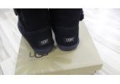 UGG Bailey Button Black - Фото 3