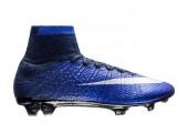 Футбольные бутсы Nike Mercurial Superfly CR7 Natural Diamond FG - Deep Royal Blue/Metallic Silver/Racer Blue/Black - Фото 1
