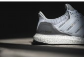 Кроссовки Аdidas Ultra Boost Grey/Off White - Фото 3