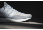 Кроссовки Аdidas Ultra Boost Grey/Off White - Фото 2