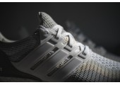 Кроссовки Аdidas Ultra Boost Grey/Off White - Фото 5