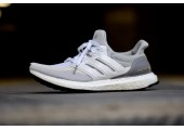 Кроссовки Аdidas Ultra Boost Grey/Off White - Фото 1