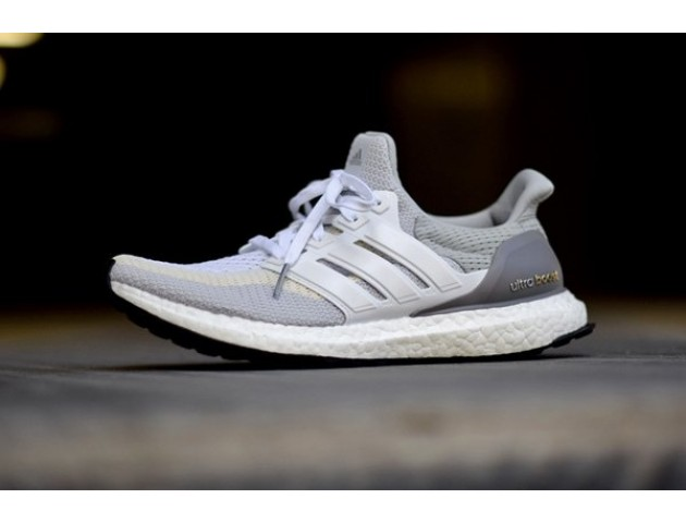 Кроссовки Аdidas Ultra Boost Grey/Off White