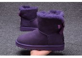 UGG Mini Bailey Bow Purple - Фото 5