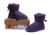 UGG Mini Bailey Bow Purple - Фото 7