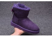 UGG Mini Bailey Bow Purple - Фото 8