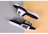 Шлепанцы Nike Comfort Black/White - Фото 2