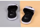 Шлепанцы Nike Comfort Black/White - Фото 9
