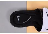Шлепанцы Nike Comfort Black/White - Фото 7