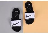 Шлепанцы Nike Comfort Black/White - Фото 3