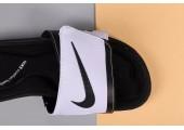 Шлепанцы Nike Comfort Black/White - Фото 6