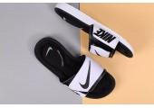 Шлепанцы Nike Comfort Black/White - Фото 4
