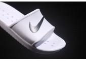 Шлепанцы Nike Benassi Swoosh White - Фото 4