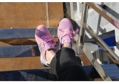 Кроссовки New Balance 996 Pink Grey - Фото 3