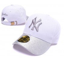 Кепка MLB New York Yankees Snapback Silver/White