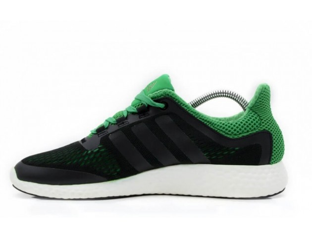 Кроссовки Adidas Pure Boost Green/Black