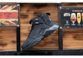 Кроссовки Nike Huarache X Acronym City MID Leather All Black - Фото 4