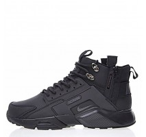 Кроссовки Nike Huarache X Acronym City MID Leather All Black