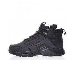 Кроссовки Nike Huarache X Acronym City MID Leather All Black