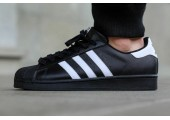Кроссовки Adidas Superstar II Black/White - Фото 2