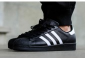 Кроссовки Adidas Superstar II Black/White - Фото 3