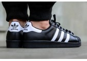 Кроссовки Adidas Superstar II Black/White - Фото 4