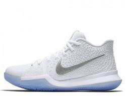 Баскетбольные кроссовки Nike Kyrie Irving 3 White Chrome