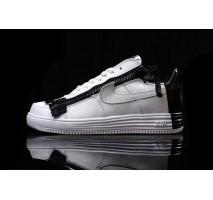 Кроссовки Acronym x NikeLab Lunar Force 1 White