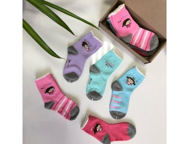 Набор детских носков для девочек № 2