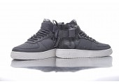 Кроссовки Nike SF Air Force 1 Utility Mid Grey/White - Фото 8