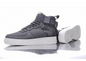 Кроссовки Nike SF Air Force 1 Utility Mid Grey/White - Фото 4
