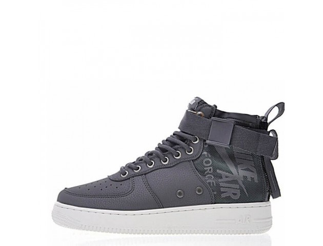 Кроссовки Nike SF Air Force 1 Utility Mid Grey/White