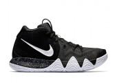Баскетбольные кроссовки Nike Kyrie 4 Black&White - Фото 1