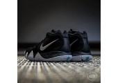 Баскетбольные кроссовки Nike Kyrie 4 Black&White - Фото 5