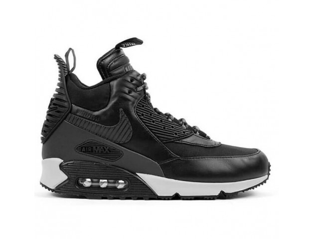 Кроссовки Nike Air Max 90 Winter Sneakerboot Black Reflective