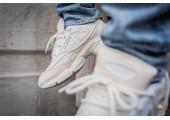 Кроссовки Adidas x Raf Simons Ozweego Bunny Cream White - Фото 5