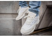 Кроссовки Adidas x Raf Simons Ozweego Bunny Cream White - Фото 4