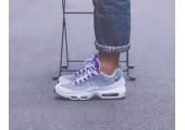 Кроссовки Nike Air Max 95 QS White/Court Purple - Фото 4