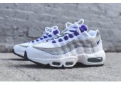 Кроссовки Nike Air Max 95 QS White/Court Purple - Фото 2