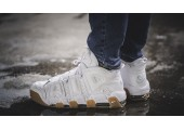 Кроссовки Nike Air More Uptempo White Gum - Фото 4